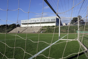 Instalaciones del Polideportivo, situado en el Campus Central.