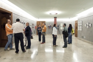 Exposición de las obras presentadas al Premios de Fotografía en la Sala Paraninfo