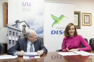 La ULL y la Fundación DISA renuevan su colaboración para mantener la Cátedra de Jóvenes Emprendedores