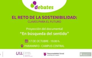 ULL Debates docuforum reto sostenibilidad 2