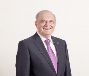 Eduardo Doménech. Rector de la Universidad de La Laguna