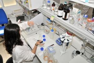 Uno de los laboratorios de la ULL.