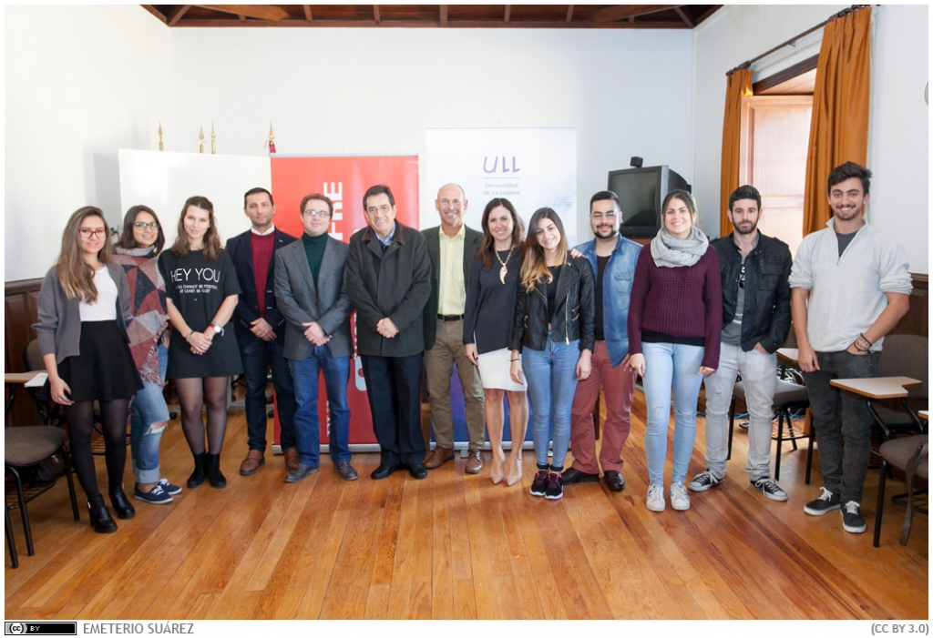 La reunión tuvo lugar en la sede del Vicerrectorado de Internacionalización.