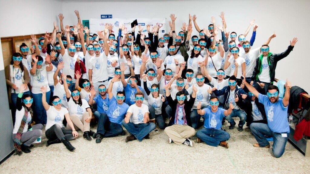 Participantes de la edición de 2015 de la Startup Weekend
