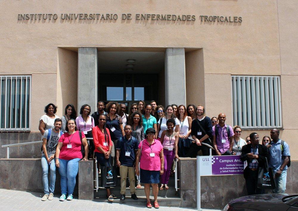 Alumnado de diferentes universidades africanas, participantes como becarios en el CampusÁfrica. Foto: CampusÁfrica