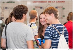 Foto 1. Bienvenida Erasmus