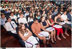 Alumnado que consiguió los mejores expedientes de acceso a estudios universitarios