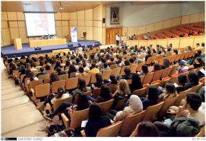 Foto 6 . Las Jornadas de Voluntariado concentraron a 280 alumnosas y 30 asociaciones