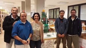 Foto 7. Campaña solidaria de Navidad en la Biblioteca.