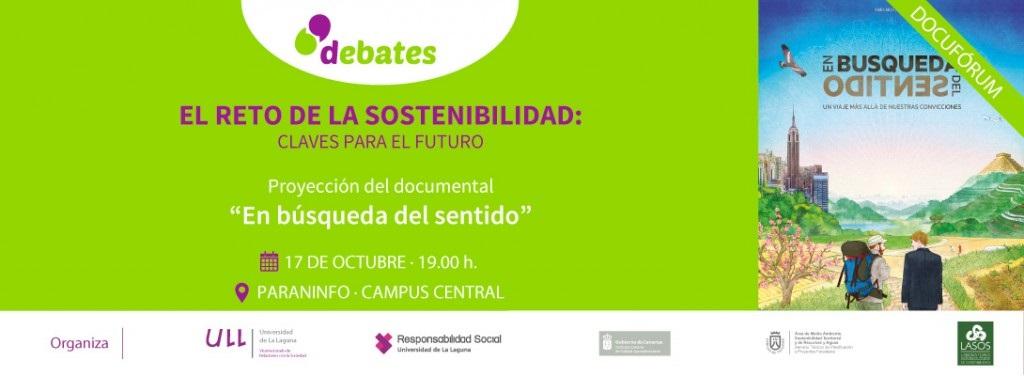 Ull Debates docuforum retos sostenibilidad